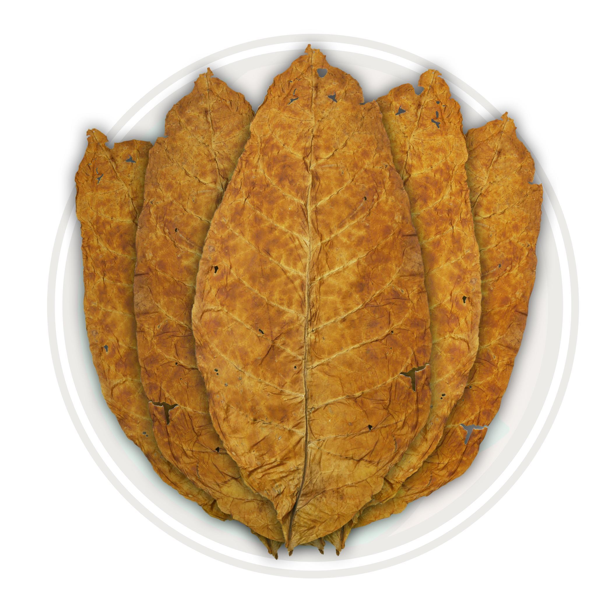 Brightleaf Virginia Flue Cured Tobacco Leaf - Smooth Whole Leaf Tobacco For  RYO, MYO, Pipe Tobacco, Hookah Tobacco, and more