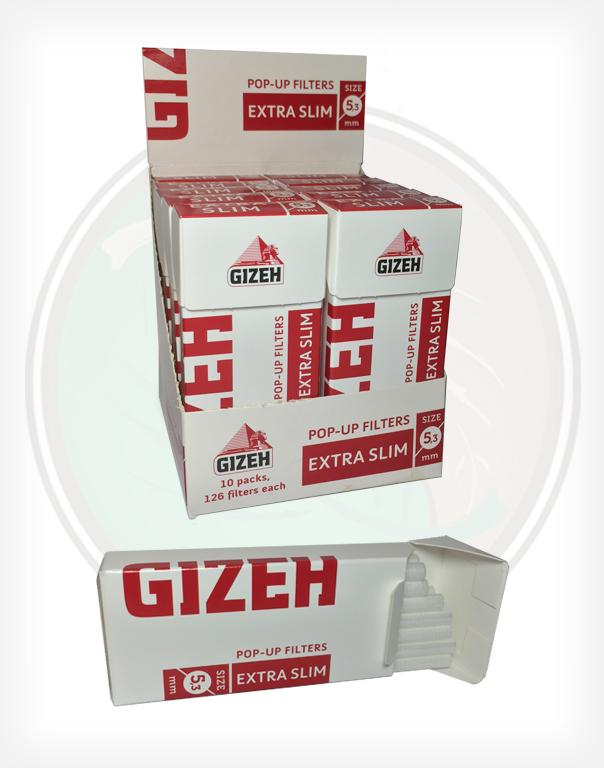 Gizeh Brand Filter Tips For Ryo 5 3mm Pop Up Filters