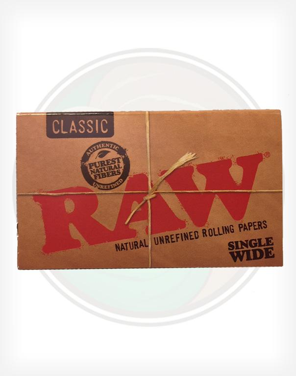 118bdd6ab70 RAW Classic Rolling Papers Single Wide Rolling Papers