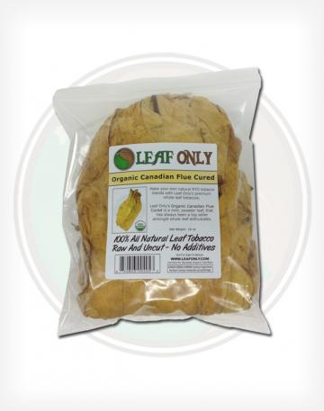 16 ounce bag Organic Canadian Virginia Flue Cured Whole Leaf Tobacco For Make Your Own Roll Your own cigarettes