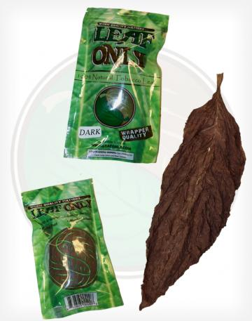 Leaf Only Brand One Single Whole Raw Tobacco Leaf Fronto Grabba CT Fronto CT Shade QB-52 DFC GR