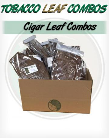 Gentlemans Cigar Leaf Tobacco Combo for Roll your own premium south american cigars Whole Raw Leaf Tobacco