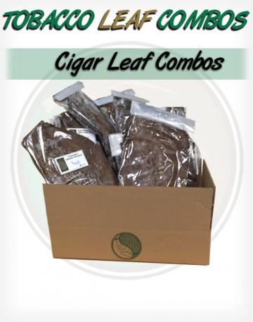 Whole Leaf Tobacco Cigar FIller Wrapper Binder Combo