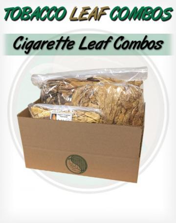 Certified Organic Cigarette tobacco leaf Combo for Roll Your Own Cigarettes Whole Raw Leaf Tobacco