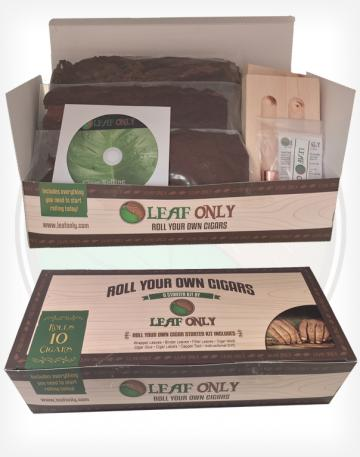New Cigar Rolling Starter Kit from Leaf Only