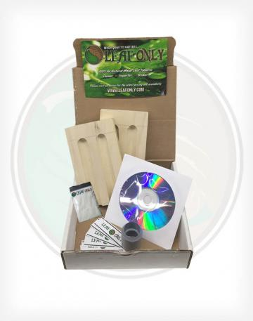 Leaf Only Mini Cigar Starter Kit for Making Your Own Homemade Hand rolled cigars