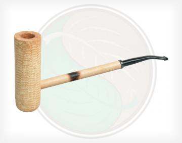 MacArthur Classic Polished Corn Cob Pipe