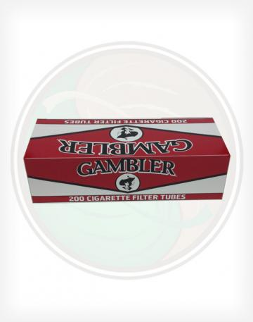 Gambler Full Flavor Red 84mm king length Roll Make Your Own Cigarette Empty Tubes 250ct