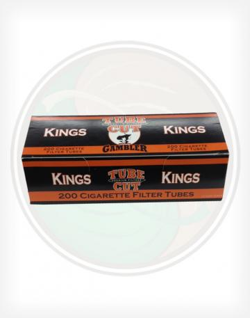 Gambler Tube Cut Full Flavor 84mm King length Roll Make Your Own Cigarette Empty Tubes 250ct