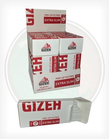 Gizeh 5.3mm RYO Filter Tips - 126 Filters