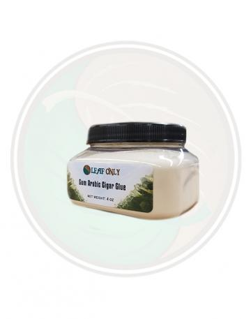 Gum Arabic Cigar Glue 4oz Jar