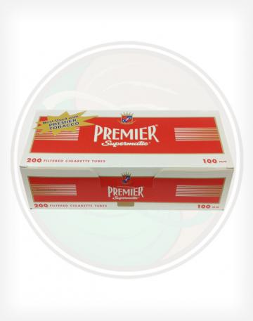 Premier Full Flavor Red 100mm length Roll Make Your Own Cigarette Empty Tubes 200ct