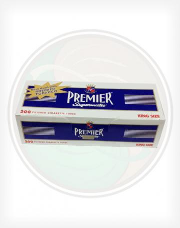 Premier Navy Blue Full Flavor 84mm KING length Roll Make Your Own Cigarette Empty Tubes 200ct