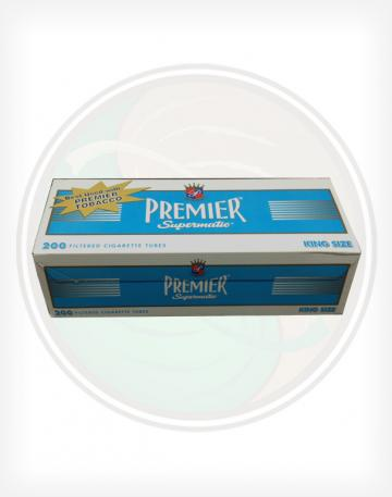 Premier Light Blue 84mm KING length Roll Make Your Own Cigarette Empty Tubes 200ct