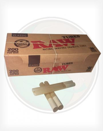 RAW Natural Unrefined Cigarette Tubes - 200ct