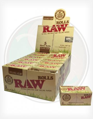 Raw Organic King Size 5 Meter (15 foot) Roll