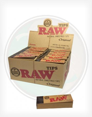 Raw Unbleached Roll-Up Tips - 1 pack / 50 tips