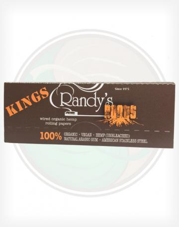 Randy's Wired Hemp King Sized Rolling Papers