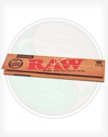 Raw Classic King Sized Slim Rolling Papers