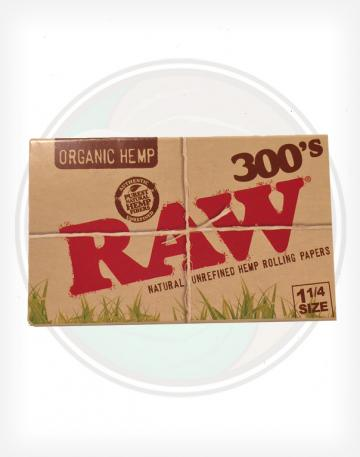 Raw Organic Hemp 300's Rolling Papers