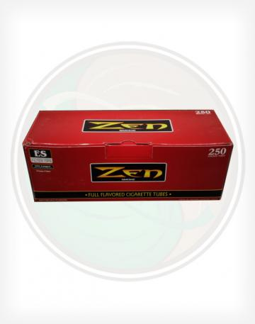 Zen Full Flavor Red 84mm king length Roll Make Your Own Cigarette Empty Tubes 250ct