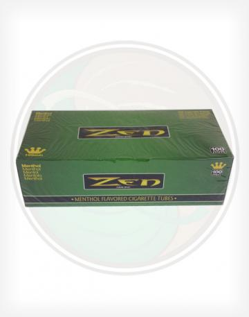 Zen Menthol Green 100mm length Roll Make Your Own Cigarette Empty Tubes 200ct