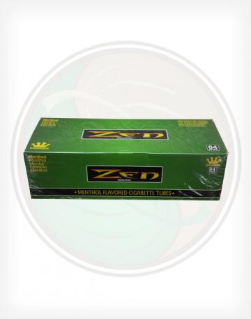 Zen Menthol Green 84mm king length Roll Make Your Own Cigarette Empty Tubes 200ct