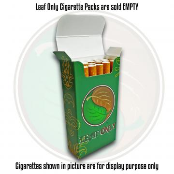 LEAF ONLY CIGARETTE PACK EMPTY 100 SIZE