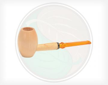 Maple Hardwood Country Gentleman Pipe