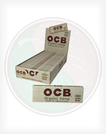 OCB Organic Hemp Single Wide Rolling Papers