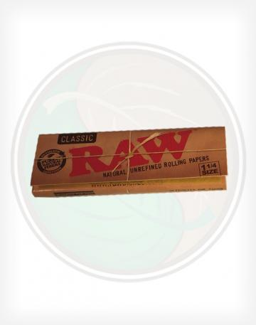 Raw Classic 1.25 1 1/4 Rolling Paper