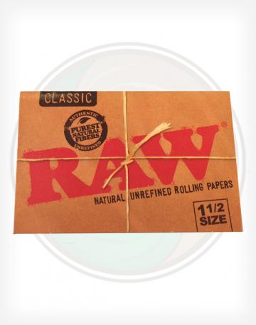 Raw 1 1/2 1.5 Rolling Papers