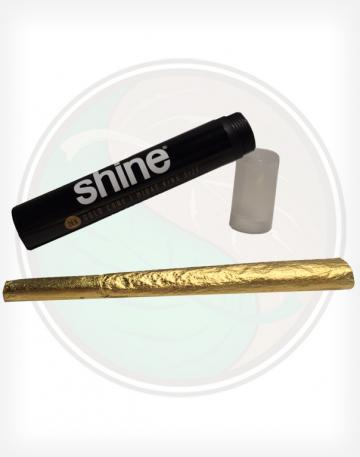 Shine 24k Gold Pre-Made Rolling Tube