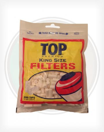 Top Filter Tips King Sized Cotton Rolling Tips