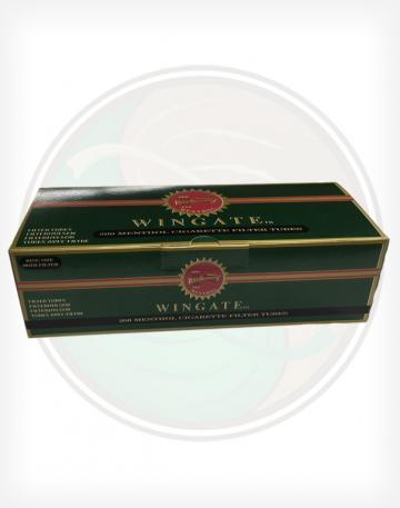 Wingate Menthol Cigarette Tubes Kings