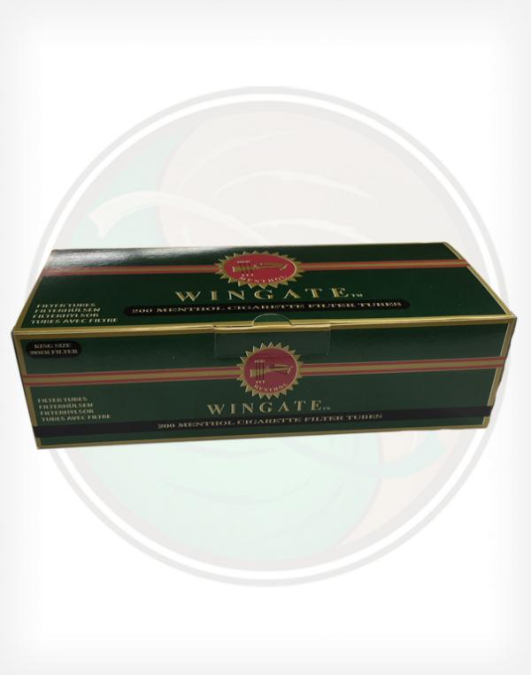 Wingate Menthol King Sized Roll Your Own Cigarette Tubes